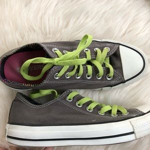Converse all star chuck taylors lace up sneakers